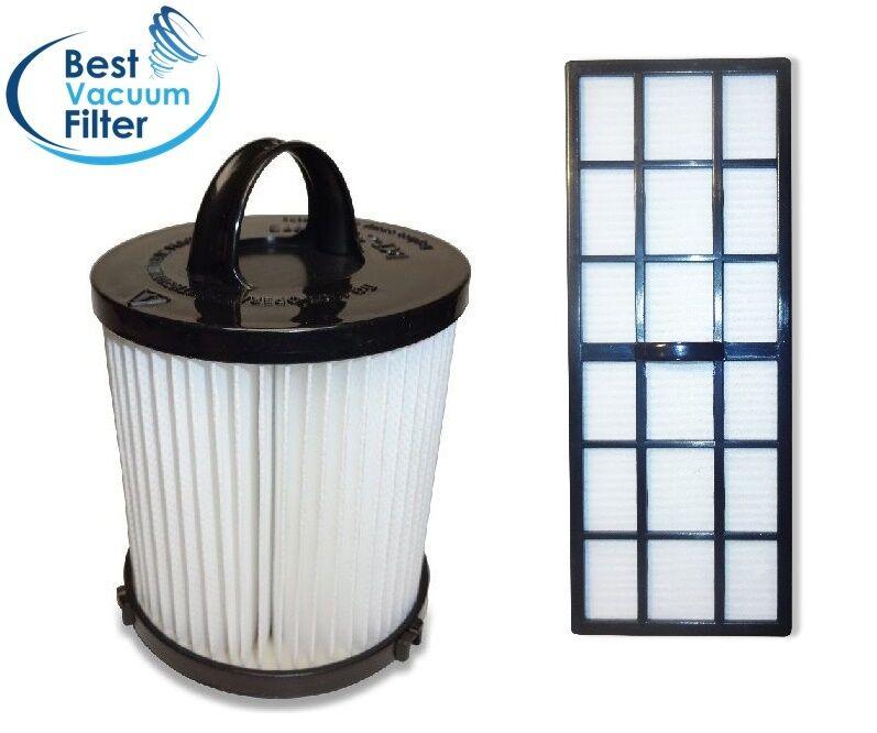 Filter Bundle DCF21 & HF7 HEPA Exhaust Filter for EUREKA