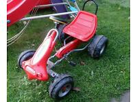 Go-kart pedal car