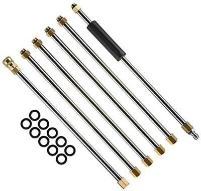 M MINGLE Pressure Washer Wand Extension, Replacement Lance,