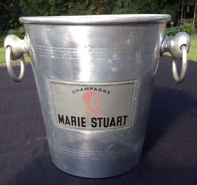 VINTAGE USED MARIE STUART CHAMPAGNE ICE BUCKET FRENCH COOLER WINE BAR WEDDING