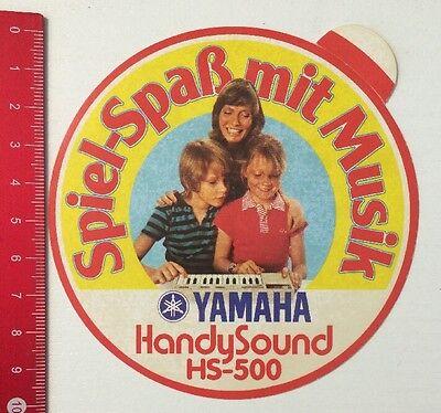 Aufkleber/Sticker: Yamaha HandySound HS-500 - Spiel-Spaß Mit Musik (03051638) Handy-sound
