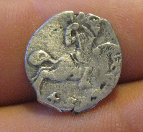 Denmark (Gluckstadt) - 1620-23 Silver 4 Skilling - Scarce!