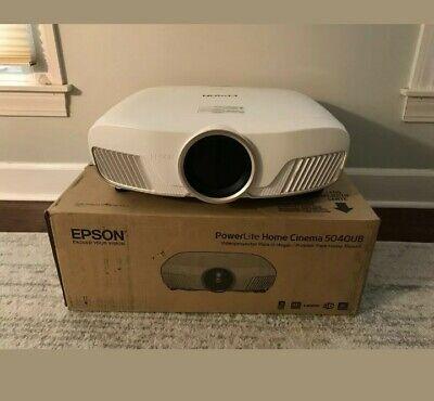 Epson PowerLite Home Cinema 5040UB 3LCD Projector 4K Enhanced Wireless HDMI*BOX*
