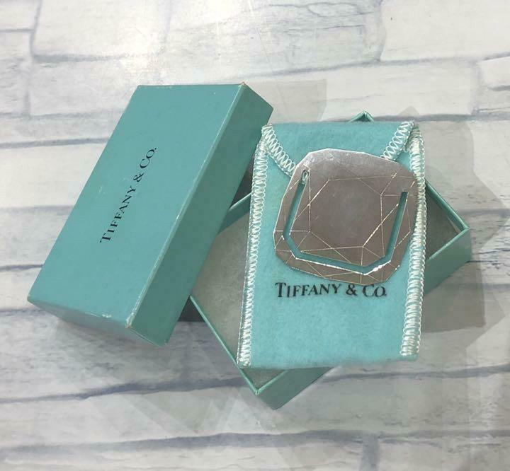 TIFFANY & Co.  Money clip Square Sterling silver with box