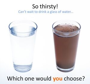 Stop drinking tap water!