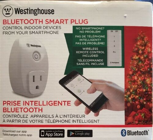 GE 13868 Bluetooth Outdoor Smart Switch (Plug-In) NEW!!