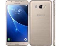 Samsung Galaxy J5(6) 2016 J510F 4G Gold Dual Sim Smartphone Unlocked Sim Free