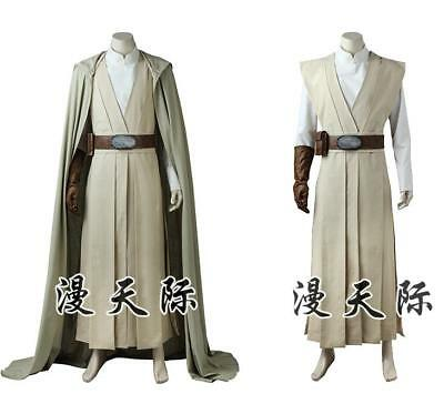 Star Wars VIII The Last Jedi Luke Skywalker Cosplay Kostüm Costume Outfit