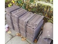 240 marley ludlow smooth brown roof tiles