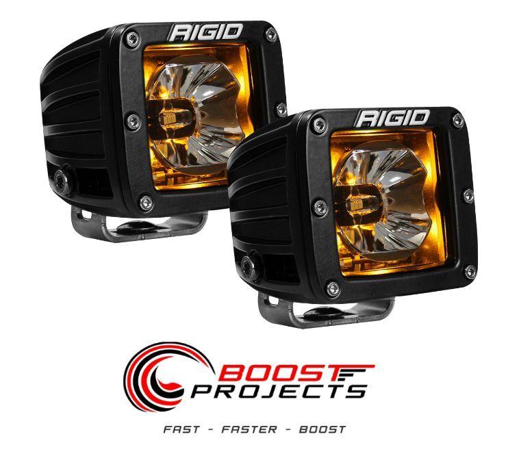 rigid industries car truck parts rigid industries rigid industries radiance pod amber led light kit 20204