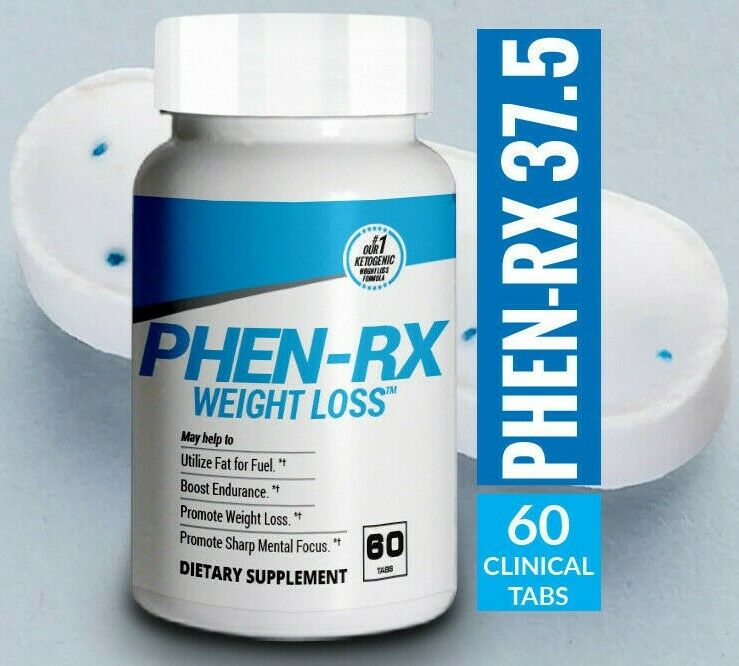 PHENEMINE MAX 37.5 P WHITE+BLUE DIET PILLS - ORIGINAL, BEST!