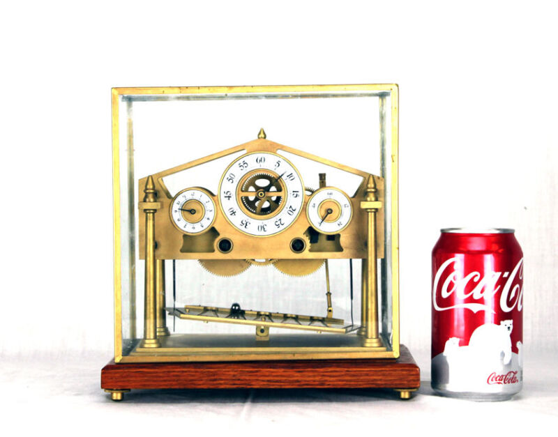 8 Day World Smallest Miniature English William Congreve Rolling Ball Clock