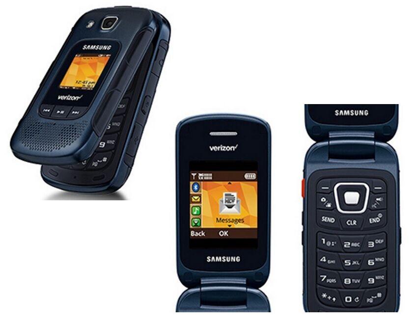 Samsung Convoy 4 Sm B690 Blue R Verizon Rugged Flip Cell