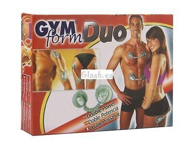 Electroestimulador de gimnasia pasiva Gym Form DUO. Reduce grasas A652
