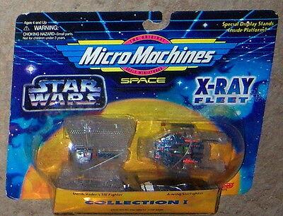 Micro Machines Star Wars X-ray Fleet Space Sets Collection I & Iii