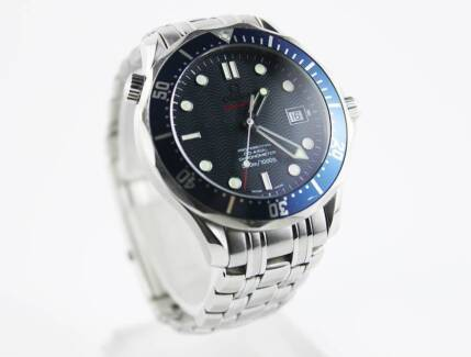 OMEGA SEAMASTER BLUE CO-AXIAL 300M | The Watch Finder Co. Melbourne CBD Melbourne City Preview