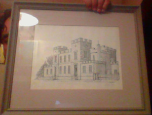 Guelph Court House Drawing? Litho? Etching? For Sale Or Trade!