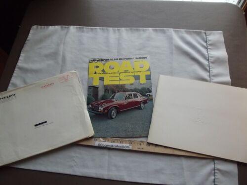 1976 Sale Brochure Mailer Package Envelope Peugeot 504 SL GL S/W Full Brochure