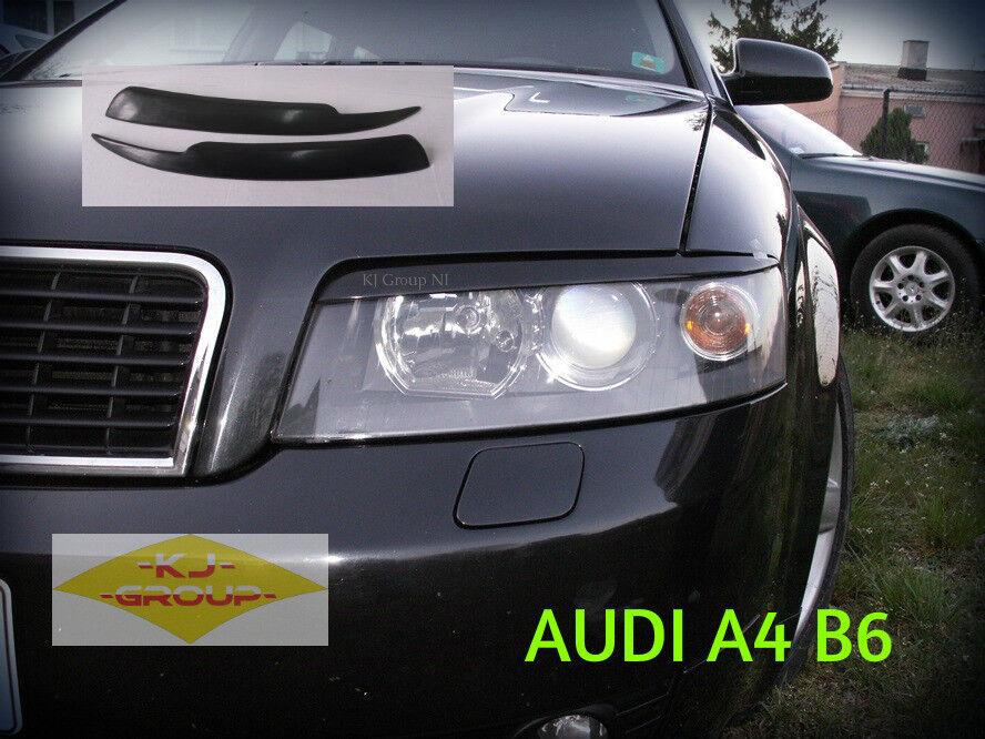 Fiber Glass Eyebrow Eyelid Headlight Cover Audi Bmw Seat