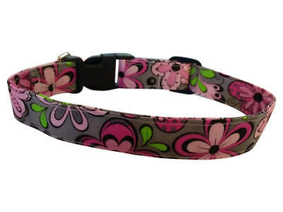 SPIFFY POOCHES Dog Collar FUN CRAZY FLOWERS ~BUY ONE GET ONE HALF - Fun Dog Collars