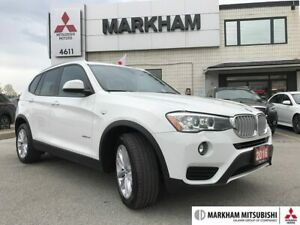 2016 BMW X3 - 1OWNER|SENSORS|HEATED STEERING WHEEL|