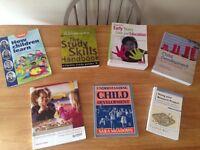 Child development books and study books