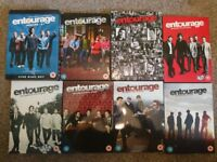 DVD - full set seasons of Entourage 1-8