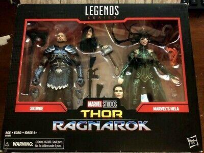 Marvel Legends Skurge and Hela Figures Thor Ragnarok NEW