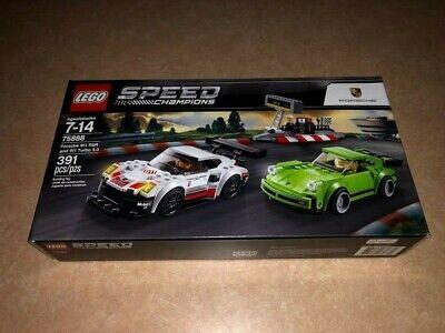 LEGO 75888 - Porsche 911 RSR and 911 Turbo 3.0 - Speed Champions - Retired NISB