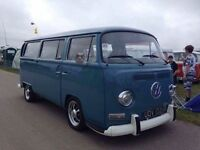 VW T2 EARLY BAYWINDOW,1970,LHD,TAX EXEMPT.