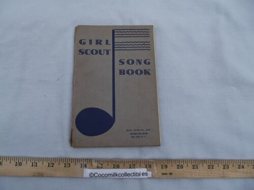 Vintage 1929 Girl Scouts of America Song Book by George Newell 136 pages GSA