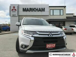 2017 Mitsubishi Outlander GT - SUNROOF 360CAM LEATHER CLEAN CARF