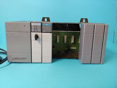 Allen Bradley Slc 500 Rack Processor 1747-l532 Power Supply 1746-p2 1746-1b16