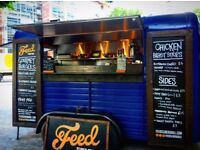 Unique business opportunity - High Quality Gourmet Burger business in converted vintage Horsebox