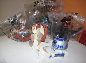 5 Star Wars Cup Toppers - 3 Still In Bags