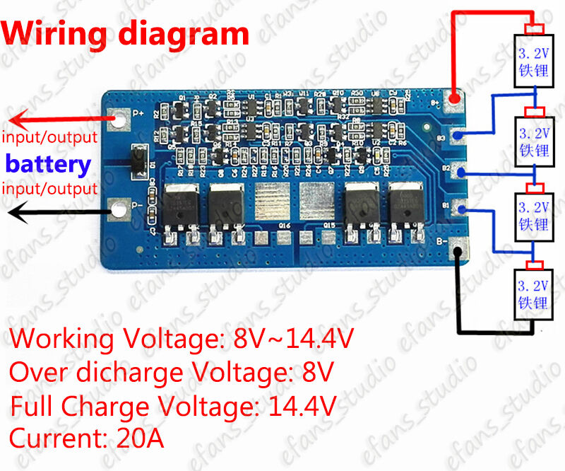 14 Volt Battery Wiring Diagram - Wiring diagram