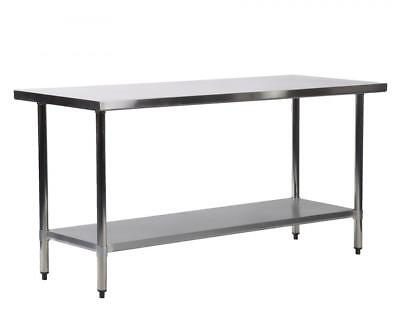 24  X 72  Stainless Steel Kitchen Work Table Commercial Kitchen Restaurant 2472
