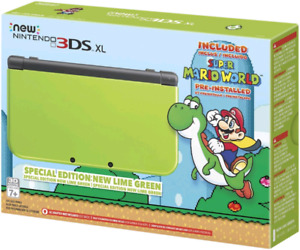 New Nintendo 3DS XL Super Mario World Limited Edition