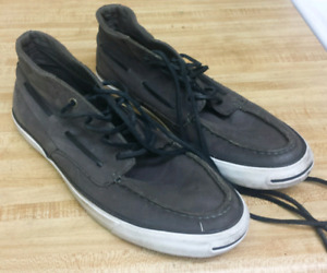 Converse Jack Purcell Leather Sneakers (size US 9)