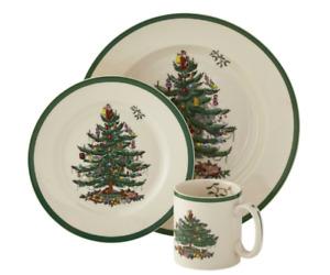 Spode Christmas Tree dinnerware