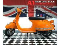 AJS Modena 125cc 125 Retro Scooter 2015MY 125