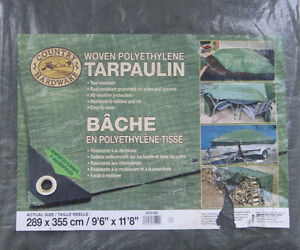 Four Country Hardware Tarps/4 Quest Better Barriers Shrub Covers