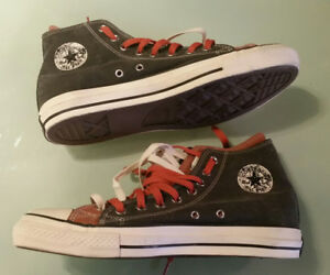 Converse double laced double tongue 10 1/2 new shoes