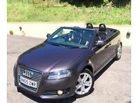 Audi A3 2.0 TDI 140**SPORT CABRIOLET DIESEL**2Owners,Leather,Stunning Car!**