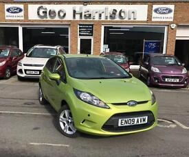 Ford Fiesta 1.4TDCi 2009MY Style + 5dr - SQUEEZE GREEN METALLIC