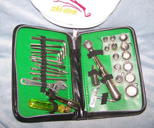Bombardier Tool Set and a Ski-Doo hat
