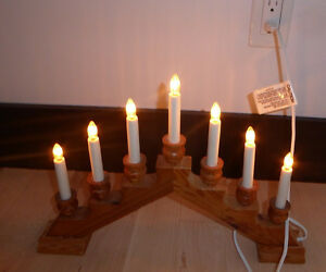 7 candle bridge (christmas decor), excellent condition