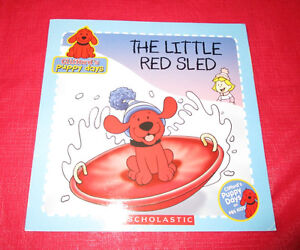 """Cliffords Puppy Days book """"The Little Red Sled"""""""