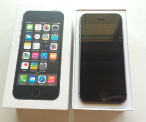 Apple iPhone 5S 16GB Gray. Factory Unlocked In Box with Contents