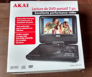 Akai Portable DVD player Cambridge Kitchener Area image 1